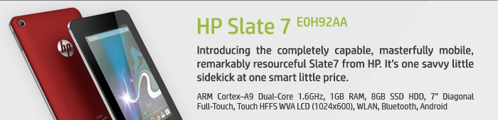 HP Slate 7 E0H92AA