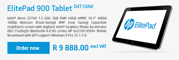 elitepad tablet d4t10aw