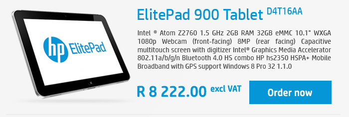 elitepad tablet d4t16aa